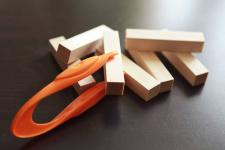Pagaliukai skirti kvapo atrankai
