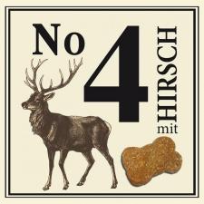 Nr.4 šunų skanėstai  su elniena, 210g