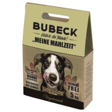,, Mano pietūs vegetariški'' super premium klasės šunų maistas. Maisto formulė tinka balto kailio šunims