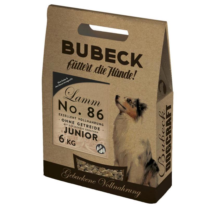 Nr. 86 (Junior) super premium klasės šunų maistas su ėriena (min. 60% mėsos)– jauniems šunims