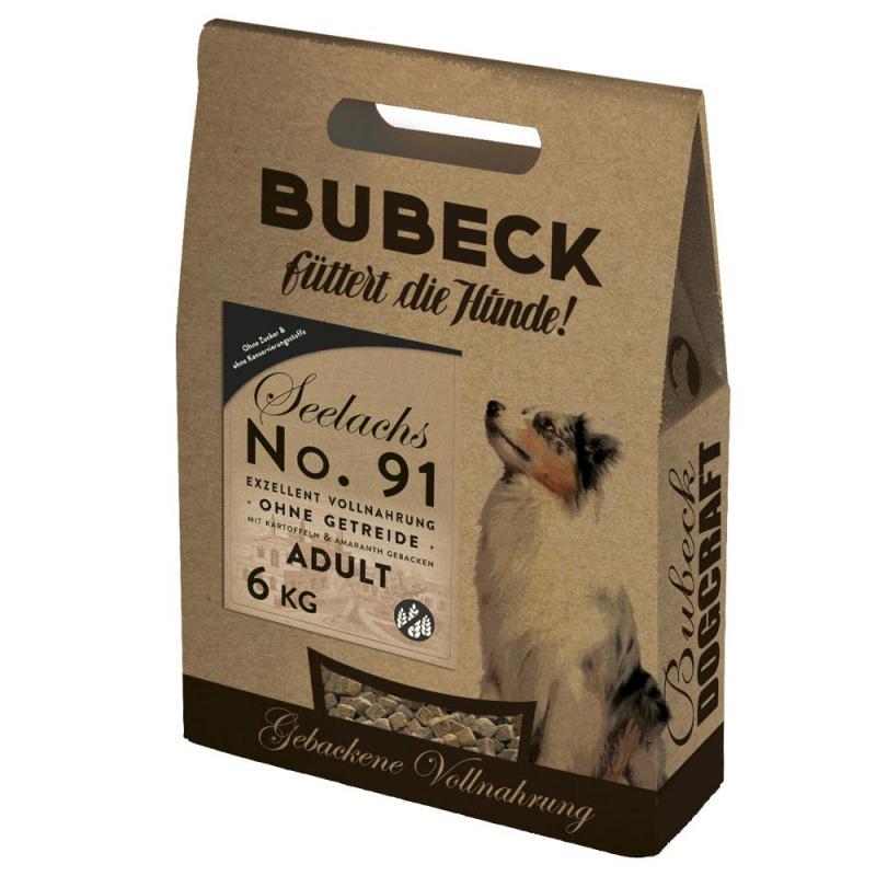 AKCIJA - Nr. 91 super premium klasės šunų maistas  su atlantine menke (min. 53%). Maisto formulė tinka balto kailio šunims.