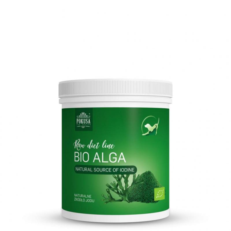 Bio-Alga (jūros dumbliai) maisto papildai šunims - kailiui ir dantims (350gr)