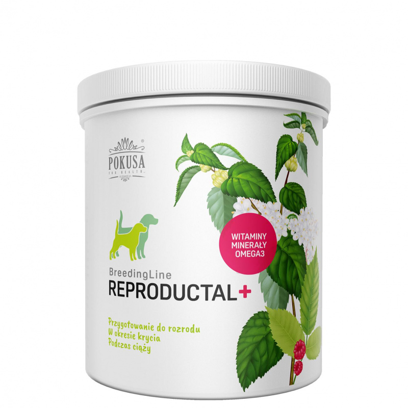 AKCIJA - Vitaminai neščioms kalėms,,BreedingLine Reproductal +'' 350gr